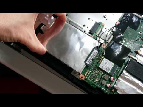 Lenovo V110 Laptop - How to change or upgrade the hard disk