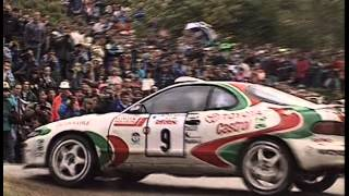 Celica GT4 Rally Footage - ST165 - ST185 - Raw Sound!