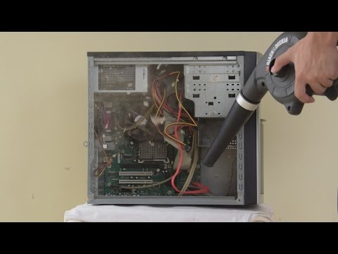 How to Clean a Dusty PC!