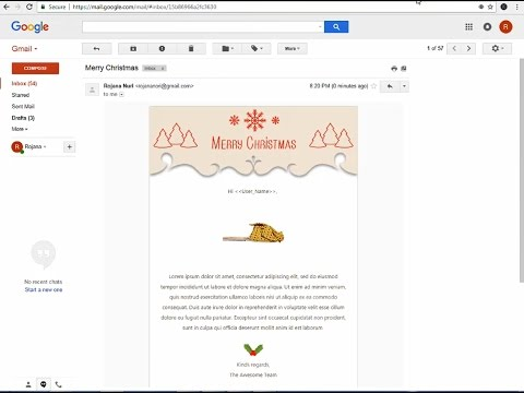 How to make an email template in gmail ♥ Creating email templates easy step by step.
