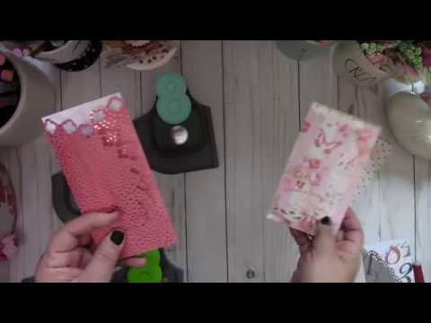 WRMK Mini 8 Punch ~ Fold Over Pockets Part 2