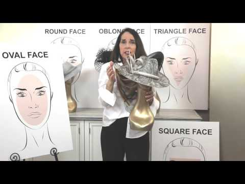 How To Choose A Hat For Your Face Shape - by Marilyn Hellman
