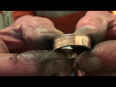 Coin Ring in Real Time Only Spent £7 on Equipment