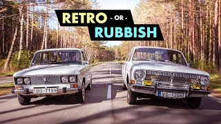 Retro Or Rubbish? Cool Communist Cars Of The Soviet Union | Carfection 4K