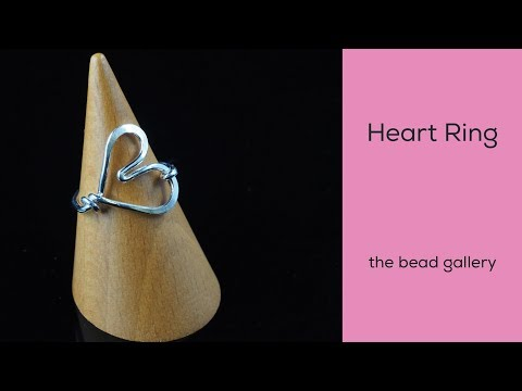 Heart Ring at The Bead Gallery