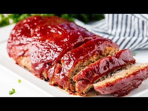 How to Make Turkey Meatloaf | The Stay At Home Chef