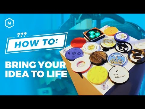 How To: Bring Your Idea to Life // 3D Printing Projects