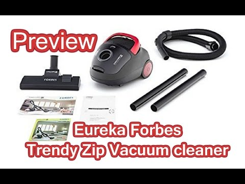 Eureka Forbes Trendy Zip Vacuum Cleaner Unboxing