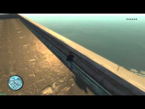 GTA 4 - Прыжки на мотоциклах с крыш