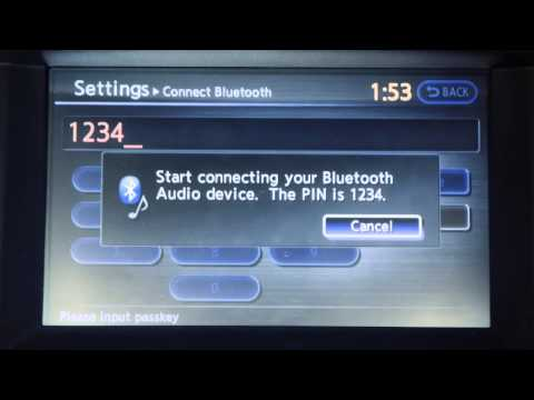 2013 Infiniti M - Bluetooth Streaming Audio (if so equipped)