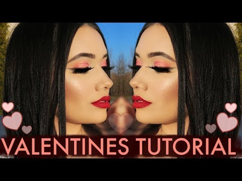 Chit Chat + Simply Flawless Valentines Day Makeup Tutorial