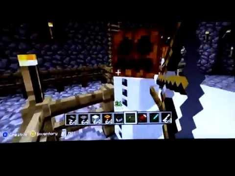 Minecraft how to make a snow golem