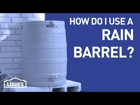 How Do I Use a Rain Barrel?   DIY Basics