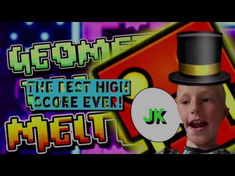 Geometry Dash Meltdown Getting The Best High Score Ever!(more Like The Worst)