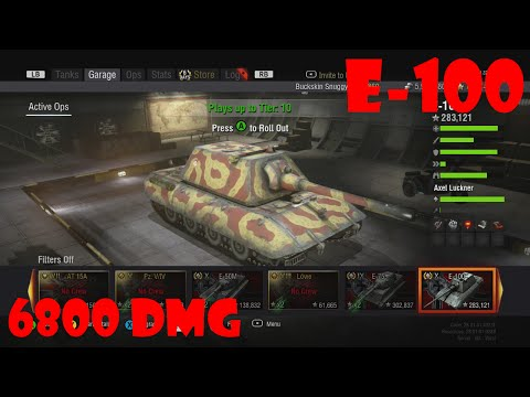 World of Tanks Xbox 360 - E100