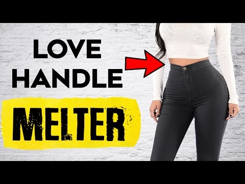 💙 How To Lose Love Handles and Belly Fat | 4 💦 Exercises To Lose Love Handles & Belly Fat