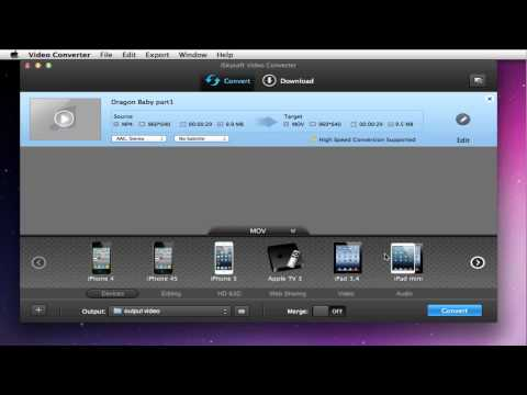 How to Convert MP4 to iMovie