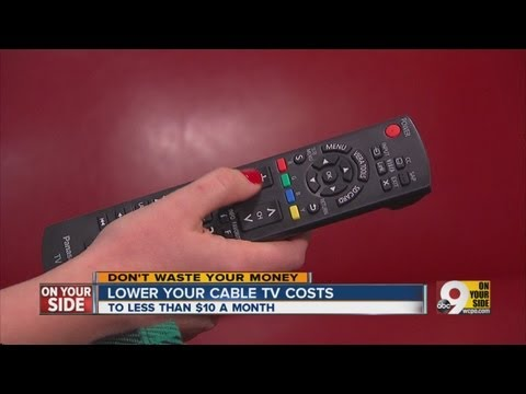 Tips on how to lower your cable bill