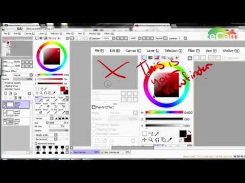 Basic Paint Tool SAI Tutorial.