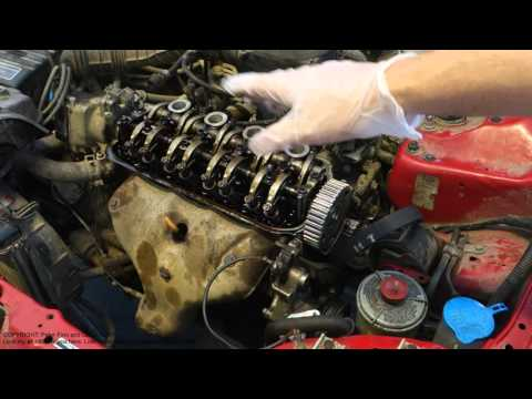 Test: Start without timing belt and how it happens in car