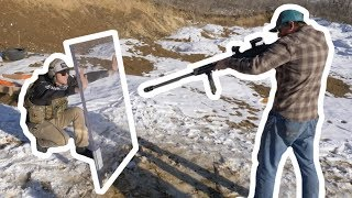 Will $15000 Of Bullet Proof Glass Stop A 50 Cal?
