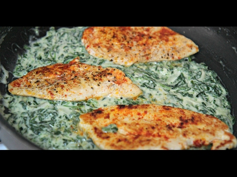 Creamy Spinach Chicken - Cooked by Julie episode 335