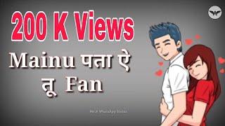 She Don't Know WhatsApp Status | Millind Gaba | Punjabi Song WhatsApp Status | Mr.A WhatsApp Status