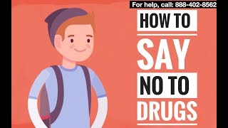 How to say no when friends offer you drugs and alcohol? | Avoid Teens Peer Pressure Guide