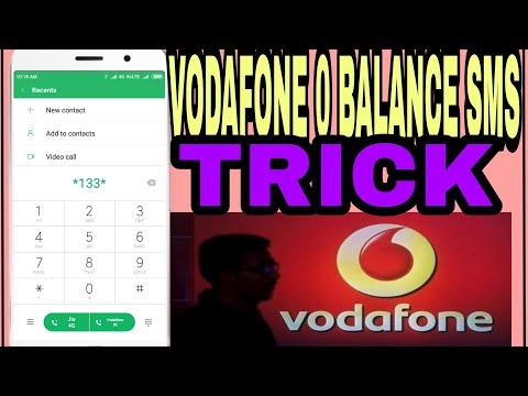 Vodafone  sa  0  balance  SMS
