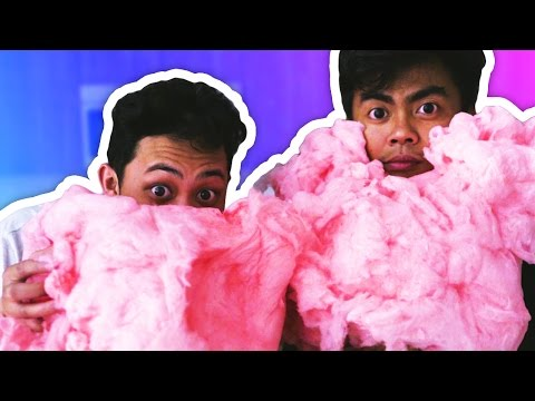DIY How To Make GIANT COTTON CANDY!