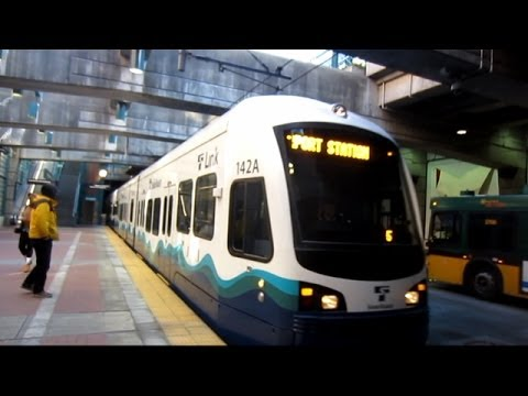 Sound Transit Central Link LRT - Seattle to SeaTac Airport