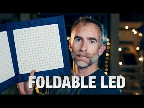 Foldable LED Panel: Intellytech LC-120