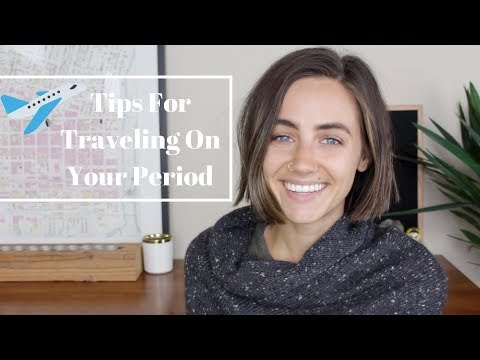 Tips For Traveling On Your Period