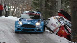 84. Rallye Monte-Carlo 2016 | CRASHS, MISTAKES & A LOT OF ACTION