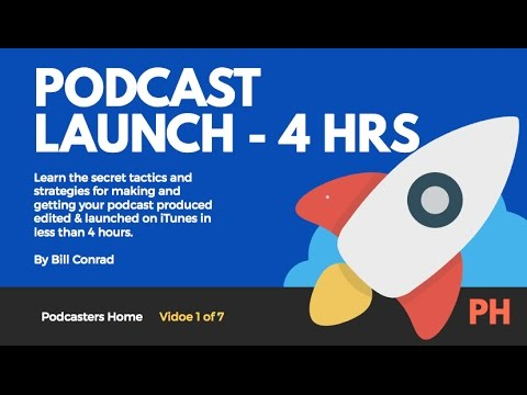 01 PODCAST LAUNCH IN 4 HRS