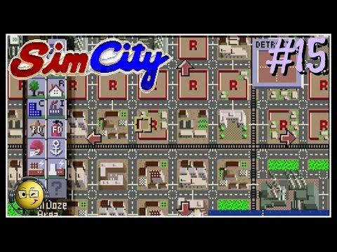 Let's Play Sim City (SNES) Part 15: Scenario-Detroit Crime 1972