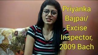 An Introduction: Dr. Priyanka Bajpai   Excise Inspector-2009 Batch