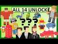 CROSSY ROAD All NEW 14 Secret Characters Unlock | Micro Update Mystery: Michael Boom, Jughead, Rugby