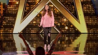 "Singer 15-Year-Old Performs ""Warrior"