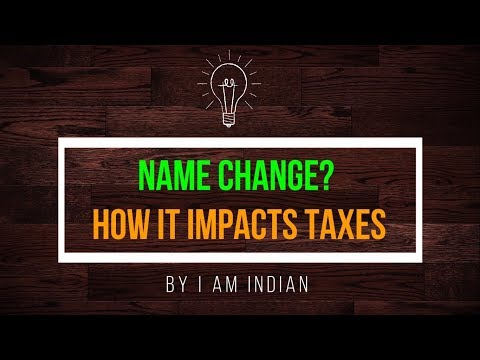 Name Change? How It Impacts Taxes in the United States