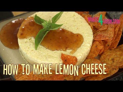 How to Make Lemon Cheese. Homemade Lemon Cheese / Paneer - Quick and Easy!!!