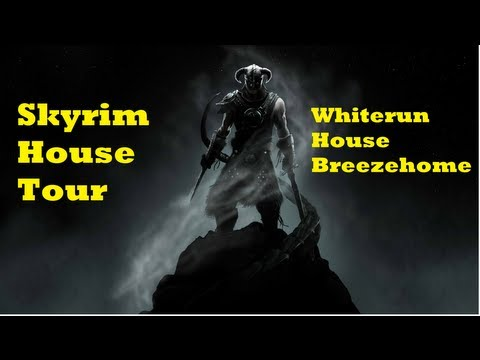 Skyrim: Whiterun house: Breezehome tour