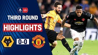 Wolves Held By United | Wolverhampton Wanderers 0-0 Manchester United | Emirates FA Cup 19/20