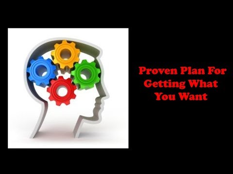 A Proven Plan For Getting What You Want