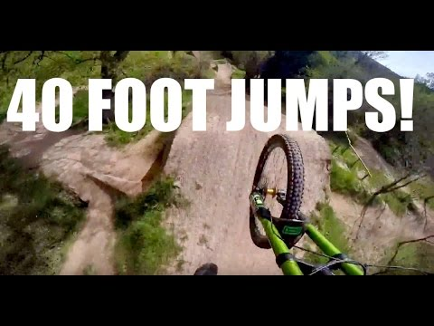 THE UK'S BIGGEST BIKE JUMPS? [Black Mountain Cycle Centre]