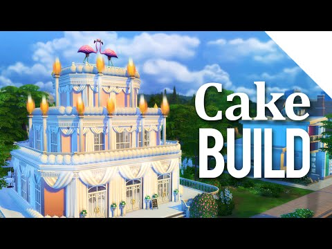 The Cake Build - The Sims 4
