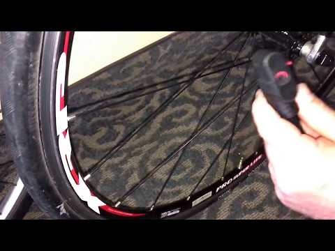 How to Inflate a Racing Bike Tire with Presta Valve