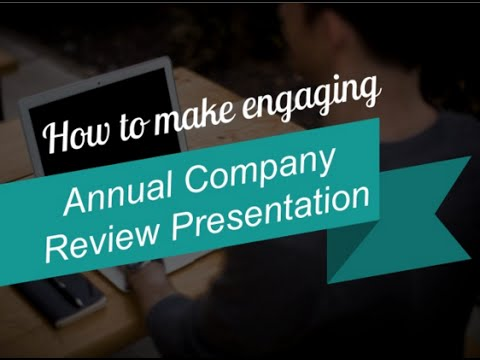 How to Make Attractive Business Review Presentation