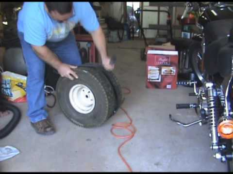 How to Reinflate a Tubeless Tire that is not sealed on the rim