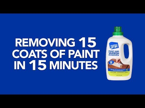 Lift Off Removes 15 Coats of Paint in 15 Minutes